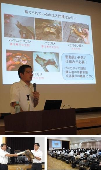 教育研究集会.学校とアカミミガメ飼育.加藤英明HideakiKato.jpg