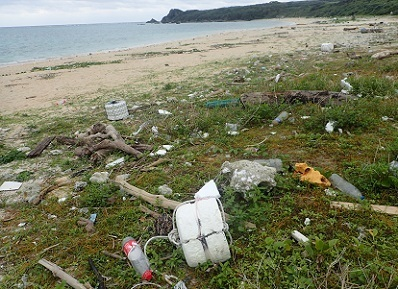 日本の浜辺のプラスチックゴミ.加藤英明HideakiKato.jpg